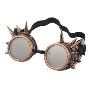 Steampunk Schweißerbrille 8 ist antik kupferfarben