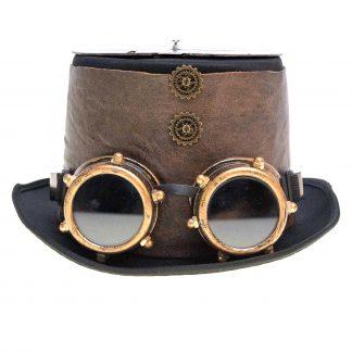 Hüte mit Brillen