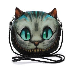 Cheshire Cat II Stofftasche Einkaufstasche Alice In im Grinsekatze Wunderland