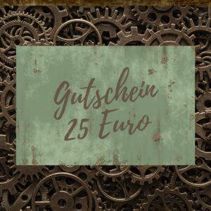 Steampunk Heaven Geschenk-Gutschein 25 Euro