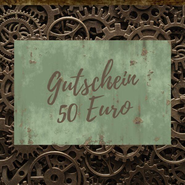 Steampunk Heaven Geschenk-Gutschein 50 Euro