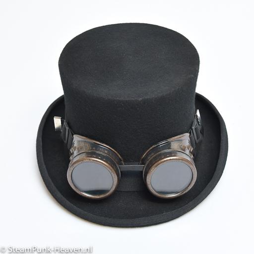 Steampunk Schweißerbrille 28, braun