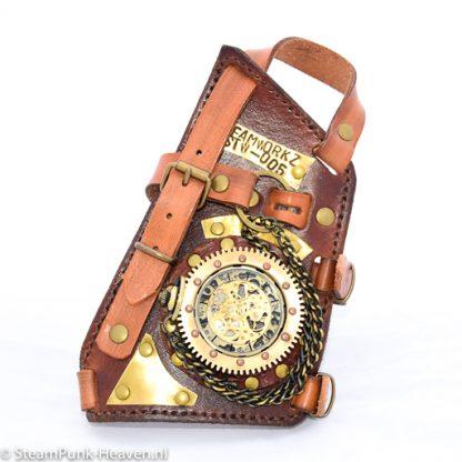 Steampunk Messing Handrücken - Uhr MG5001