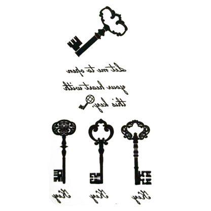 Steampunk Tattoo Steampunk Schlüssel 1