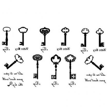Steampunk Tattoo Steampunk Schlüssel 2
