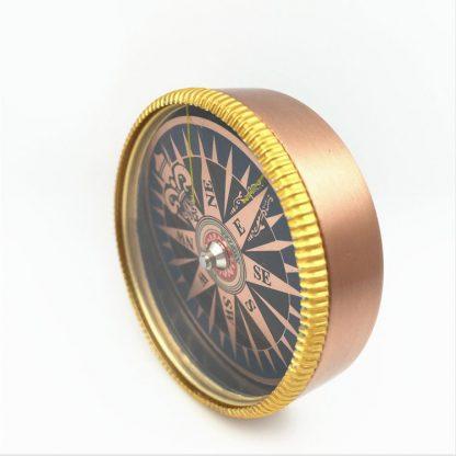 Steampunk Messing Kompass Gold