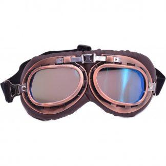 Steampunk Pilotenbrille 13