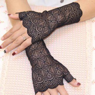 Steampunk Lolita Handschuhe 25