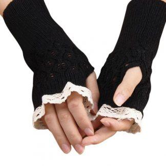 Steampunk Lolita Handschuhe 33