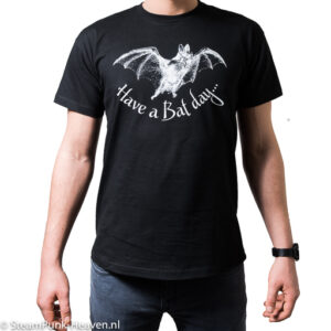 Steamgoth Herren T-Shirt Have a Bat Day
