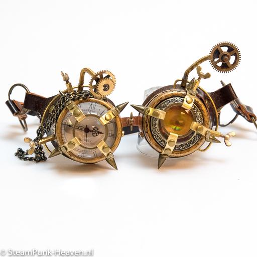 Steampunk Messing Schweissbrille MG5052