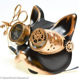 Steampunk Katzenmaske Mimi