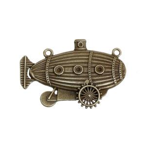 Steampunk Kettenanhänger Zeppelin