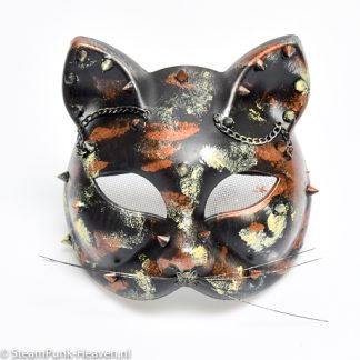 Steampunk Maske Kitty