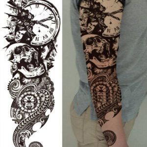 Steampunk Tattoo Shattered time