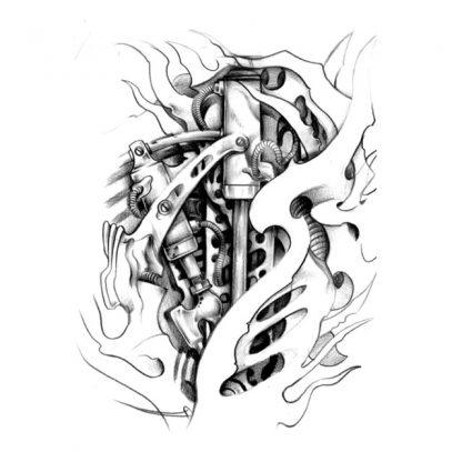 Steampunk Tattoo Secret Machine