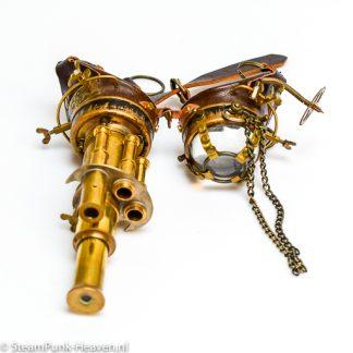 Steampunk Messing Schweissbrille MG5061