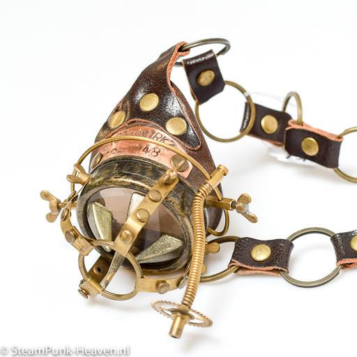 Steampunk Messing Mono-goggle MG5063