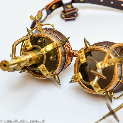 Steampunk Messing Schweissbrille MG5059