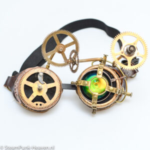 Steampunk Messing Schweissbrille MG5058