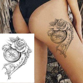 Steampunk Tattoo Survive