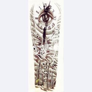 Steampunk Tattoo Time Gate