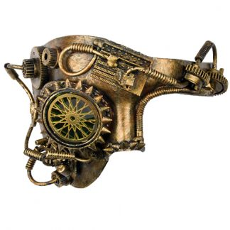 Steampunk Maske Homunkulus