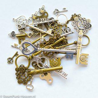 Steampunk Schlüssel MEGA-Set 7