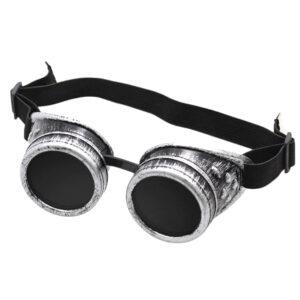 Steampunk Schweissbrille 80