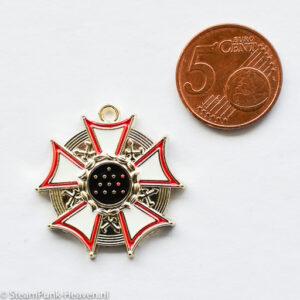 Steampunk Kettenanhänger Medaille 4
