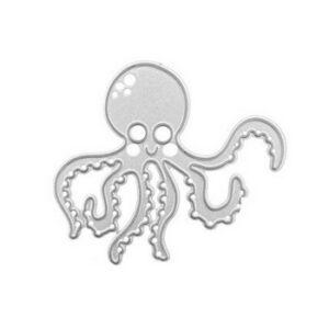 Steampunk Stanzschablone kleine-Krake