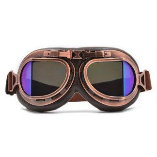 Steampunk Pilotenbrille 21