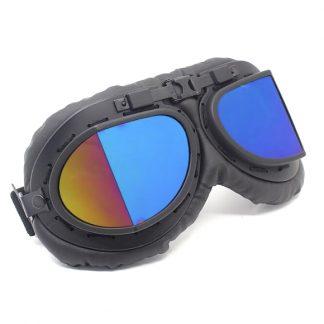 Steampunk Pilotenbrille 22