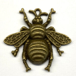 Steampunk Kettenanhänger Biene