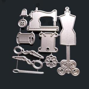 Steampunk Stanzschablone Näh-Leidenschaft