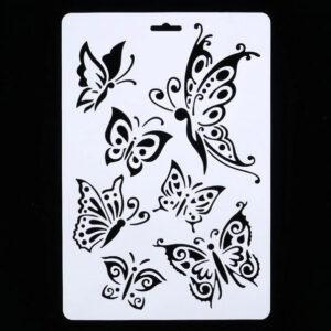 Steampunk Schablone Schmetterlinge