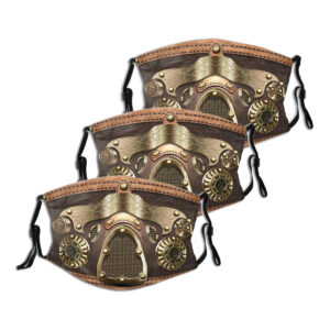 Steampunk Gesichtsmasken-Set Everett