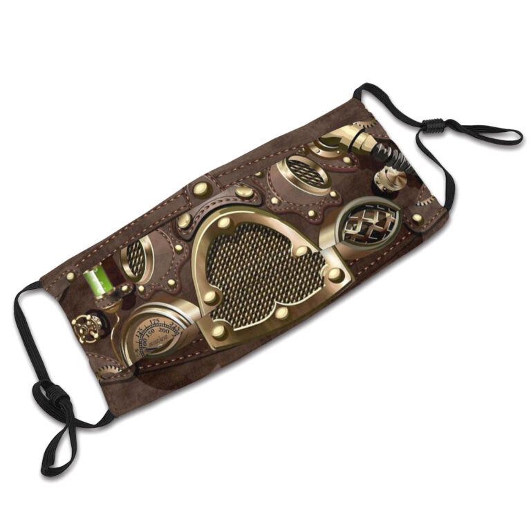 Steampunk Gesichtsmasken-Set Sterling