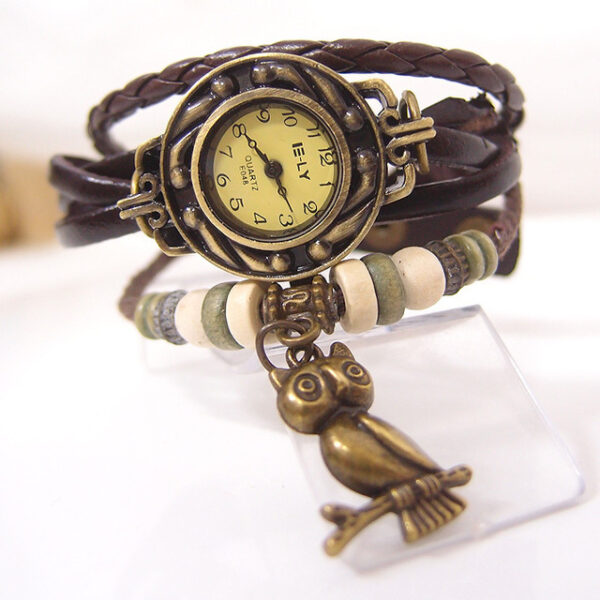 Steampunk Armbanduhr Luise