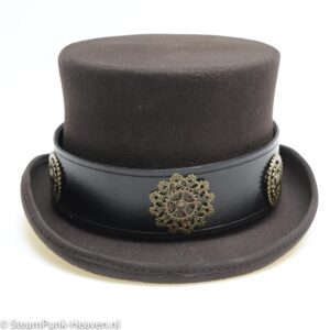 Steampunk Hutband Black Gear