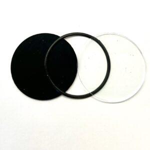 Steampunkbrillen-Gläser