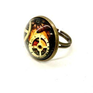 Steampunk Ring 82