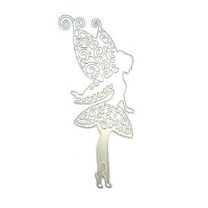 Steampunk Stanzschablone Fairy