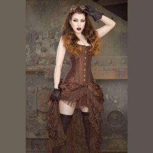 Steampunk Damen Rock Hazel