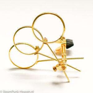 Steampunk 3fach-Juwelierlupe Ocularis lapidarii