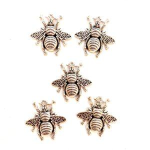 Steampunk Mini-Bienen, 5er Set